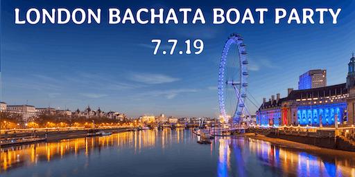 London Bachata Boat Party