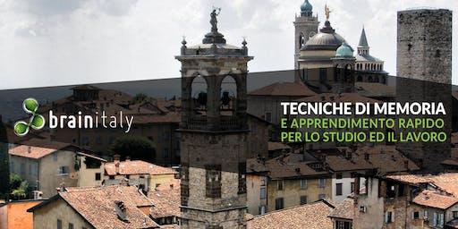 Bergamo: Corso gratuito di memoria