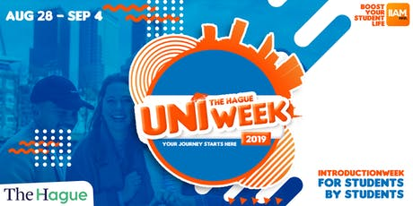 Support UNIweek Den Haag: Introduction Week 2019 tickets