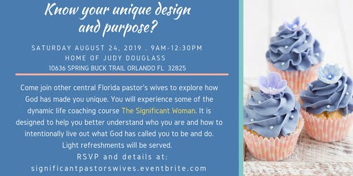 Pastor's wives Significance event