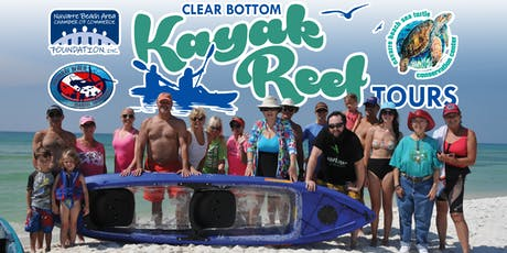 Clear Bottom Kayak Tours August 24, 2019 tickets