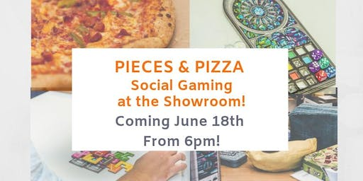 'Pieces and Pizza' Games and Pizza night!