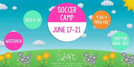 Soccer Camp at Love City tickets