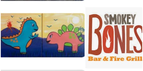 Dad/Mom & Me Dino Paint Event-Taunton(1 Ticket For Both) tickets
