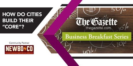 The Gazette Business Breakfast Series June 20 tickets