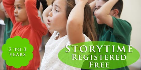 Tales for Twos Drop-in (2 to 3-years-old) tickets