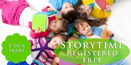 Storytime Drop-in (3 years and up) tickets