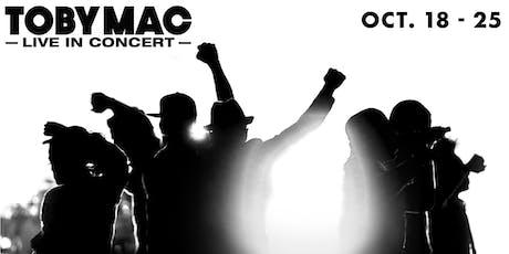 10/19 - Oshawa - TobyMac tickets