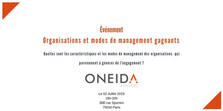 Engagement : organisations  et modes de management gagnants billets