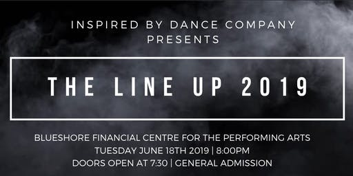 "Inspired By Dance Company presents ""The Line Up 2019"""