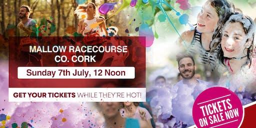Bubbly Colour Run -Cork Racecourse