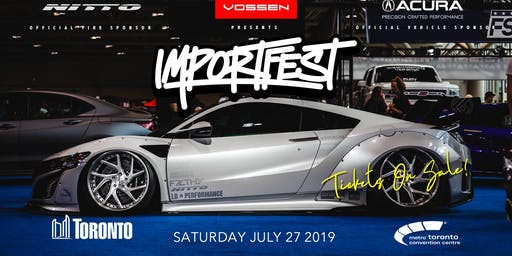 IMPORTFEST 2019 - VEHICLE REGISTRATION