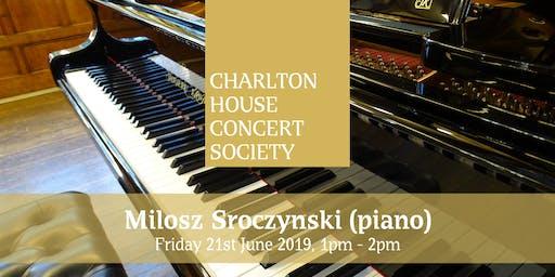 Milosz Srocynski - Charlton House Concert Society