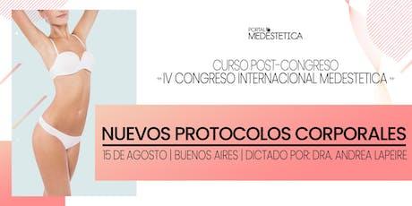 Nuevos Protocolos Corporales entradas