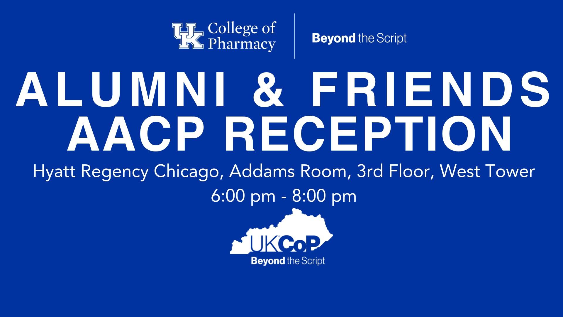 UKCOP Alumni & Friends Reception at AACP