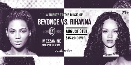 BEYONCE vs. RIHANNA (Tribute // Dance Party) at MEZZANINE tickets