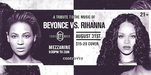 BEYONCE vs. RIHANNA (Tribute // Dance Party) at MEZZANINE