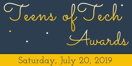 Kylar.io - Teens of Tech Awards 2019 tickets