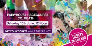 Bubbly Colour Run -Fairyhouse Racecourse