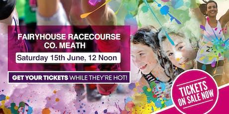 Bubbly Colour Run -Fairyhouse Racecourse tickets