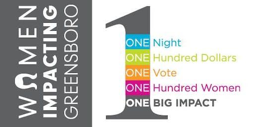 Women Impacting Greensboro (WIG) August 2019 Meeting