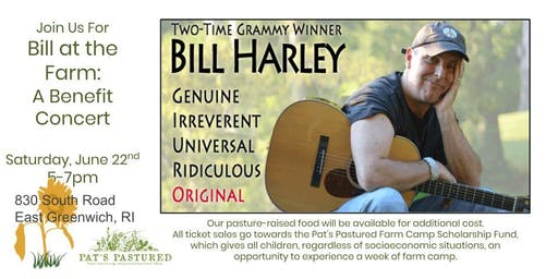 Bill Harley at the Farm:  A Benefit Concert