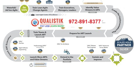 Leading SAFe Certification / Certified SAFe Agilist (SA) 4.6 (Dallas) tickets