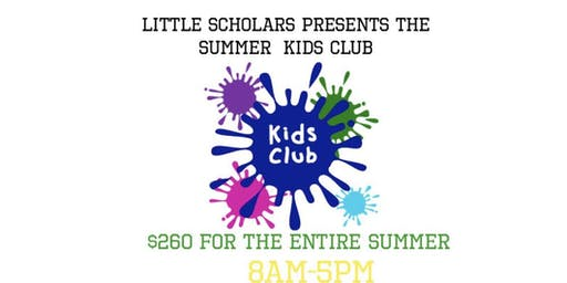 Little Scholars Summer Kids Club Camp