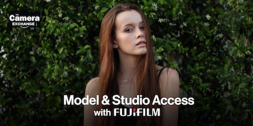 Model & Studio Access with Fujifilm