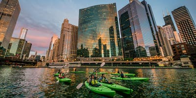Chicago River Kayak & Tiki Happy Hour Presented by Fat Tire