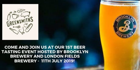 Greensmiths Beer Tasting and Social - Session 1 tickets