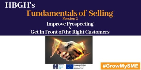 Fundamentals of Selling: Session Two (Grimsby) tickets