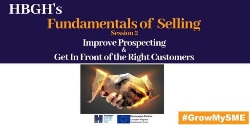 Fundamentals of Selling: Session Two (Grimsby)