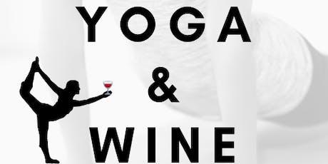 Yoga & Wine 7/21 tickets