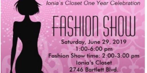 Ionia's Closet Anniversary Celebration & Fashion  Show