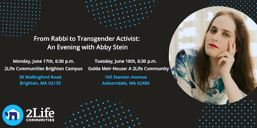 From Rabbi to Transgender Activist: An Evening with Abby Stein
