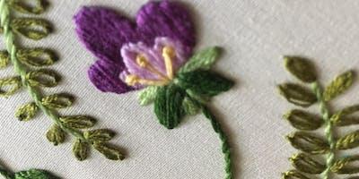 Serenbe Hand Embroidery Workshop: Florals