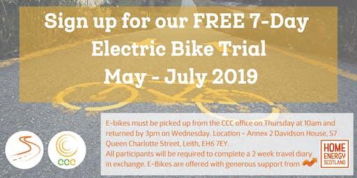 Free Electric Bike Trial