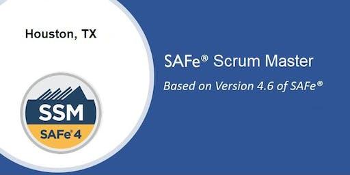 SAFe 4.6 Scrum Master Certification Course - Houston