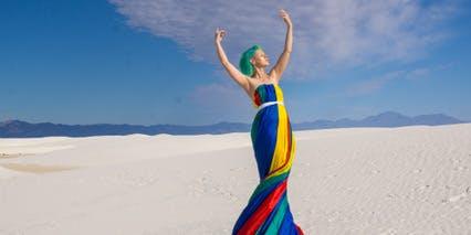 The Parachute Goddess Project Vegas Tour