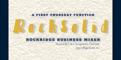 RockSolid: First Thursday Rockridge Business Mixer
