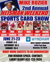 2019 Houston Sports Collectibles Show