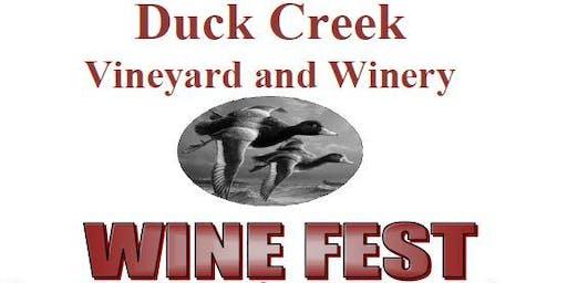 Duck Creek 6th Annual Wine Fest