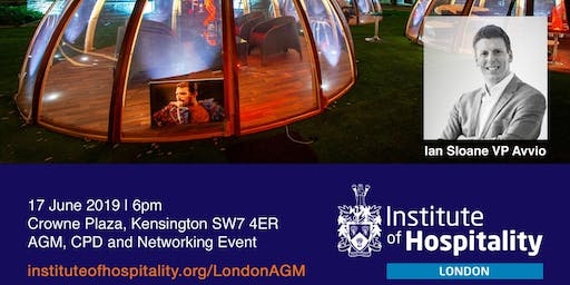 IoH London AGM, CPD and Networking Event