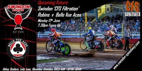 Swindon Robins V Belle Vue Aces tickets
