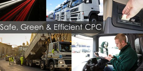 9845 CPC Work Related Road Risk & Health and Safety in the Transport Environment - Sunderland tickets