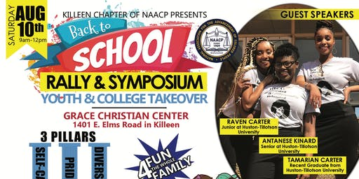 NAACP Back 2 School Rally & Symposium