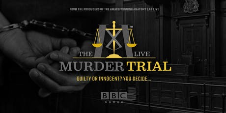 The Murder Trial Live 2019 | Bristol 06/09/2019 bilhetes