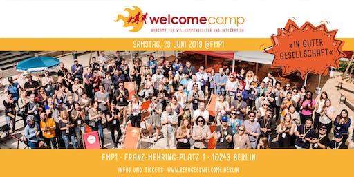 "WelcomeCamp 2019 ""In guter Gesellschaft"""