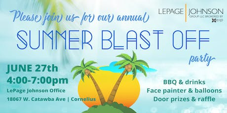 LePage Johnson Realty Summer Blast Off Client Party tickets